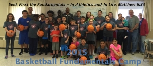 2015 Basketball Camp